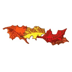 Fall Leaves embroidery design