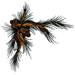 Pine Corner embroidery design
