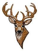 Deer Head embroidery design