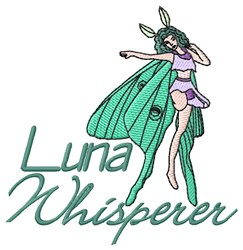 Luna Whisperer embroidery design