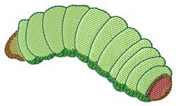 Caterpillar embroidery design