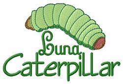 Luna Caterpillar embroidery design