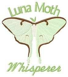 Moth Whisperer embroidery design