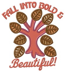 Fall Foliage embroidery design