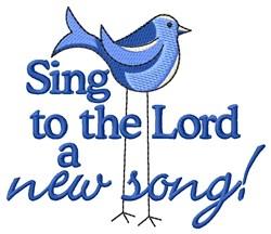 Bird Song embroidery design