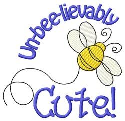 Unbeelievably Cute embroidery design