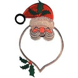 Santa Appliqué embroidery design