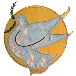 Dove Appliqué embroidery design