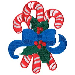 Candy Cane Bouquet embroidery design