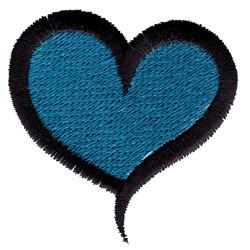 Filled Heart embroidery design