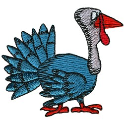 Thanksgiving Turkey embroidery design