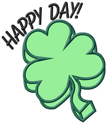 Happy Day embroidery design