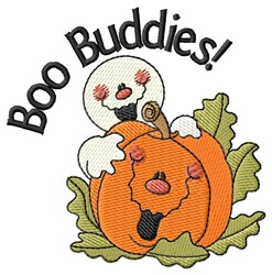 Eek-A-Boo Buddies embroidery design