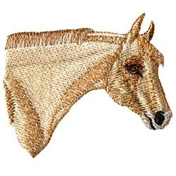 Palomino Head embroidery design
