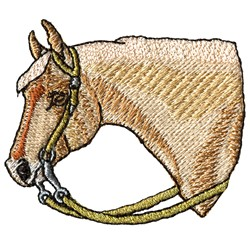 Palomino Horse Embroidery Design