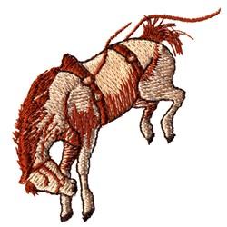 Bucking Bronco embroidery design