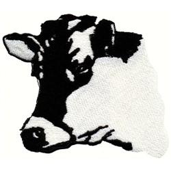 Holstein Head embroidery design