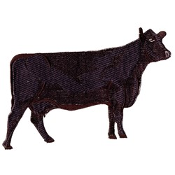 Black Angus embroidery design