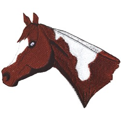 Paint Head embroidery design