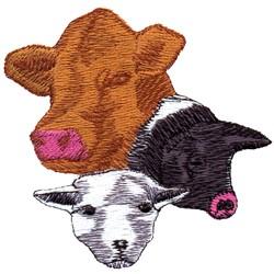 Farm Animals embroidery design