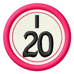 Bingo I20 embroidery design
