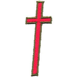 Cross embroidery design