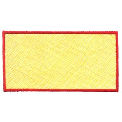 Light Fill Rectangle embroidery design