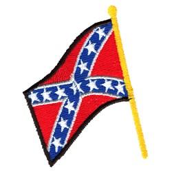 Confederate Flag embroidery design