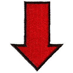 Red Arrow embroidery design