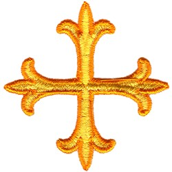 Ornate Cross embroidery design