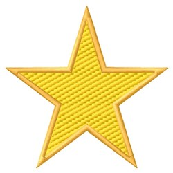 Star (Light Fill) embroidery design
