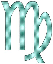 Kanaya Maryam Virgo embroidery design