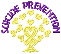 Prevention embroidery design