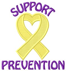 Support Prevention embroidery design