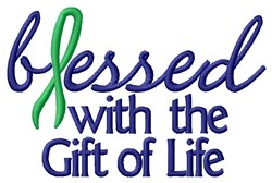 Gift Of Life embroidery design