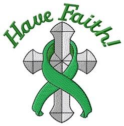 Have Faith! embroidery design