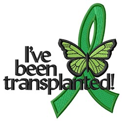 Organ Donation Matters embroidery design