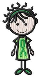 Stick Nurse embroidery design