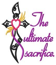 Ultimate Sacrifice embroidery design