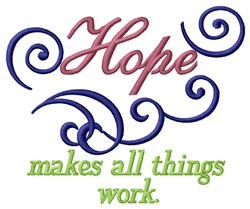 Hope Work embroidery design