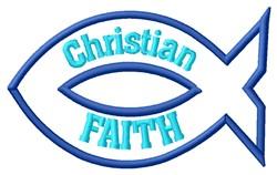 Christian Faith embroidery design