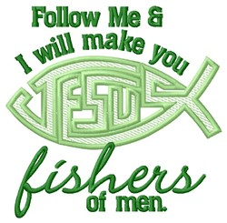 Fishers Of Men embroidery design