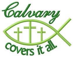 Calvary embroidery design
