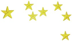 Shooting Stars embroidery design