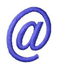 Jailbird Jenna Font at symbol embroidery design