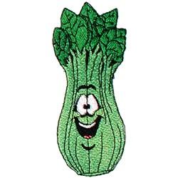 Celery embroidery design