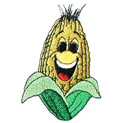 Corn Face embroidery design