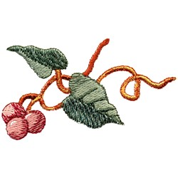 Berry Motif embroidery design