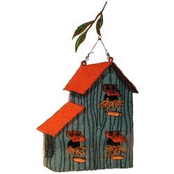 Birdhouse embroidery design