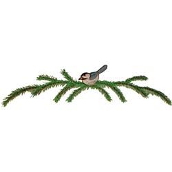 Bluebird Border embroidery design